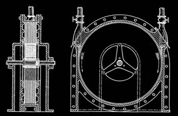 tesla turbine patent image
