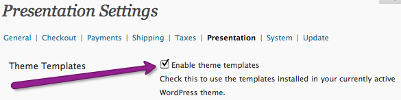 Enabling custom theme templates in shopp
